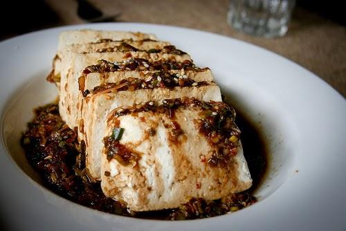 Warm Tofu With Garlic Sauce and Sesame Recipe | Panlasang Pinoy ...